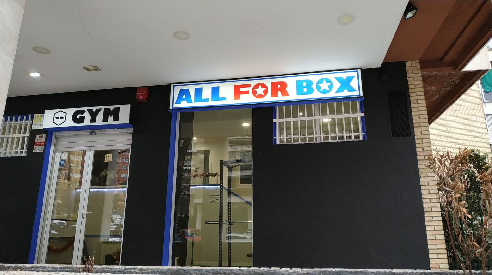 All for box Gym - Gimnasio en Chamartin