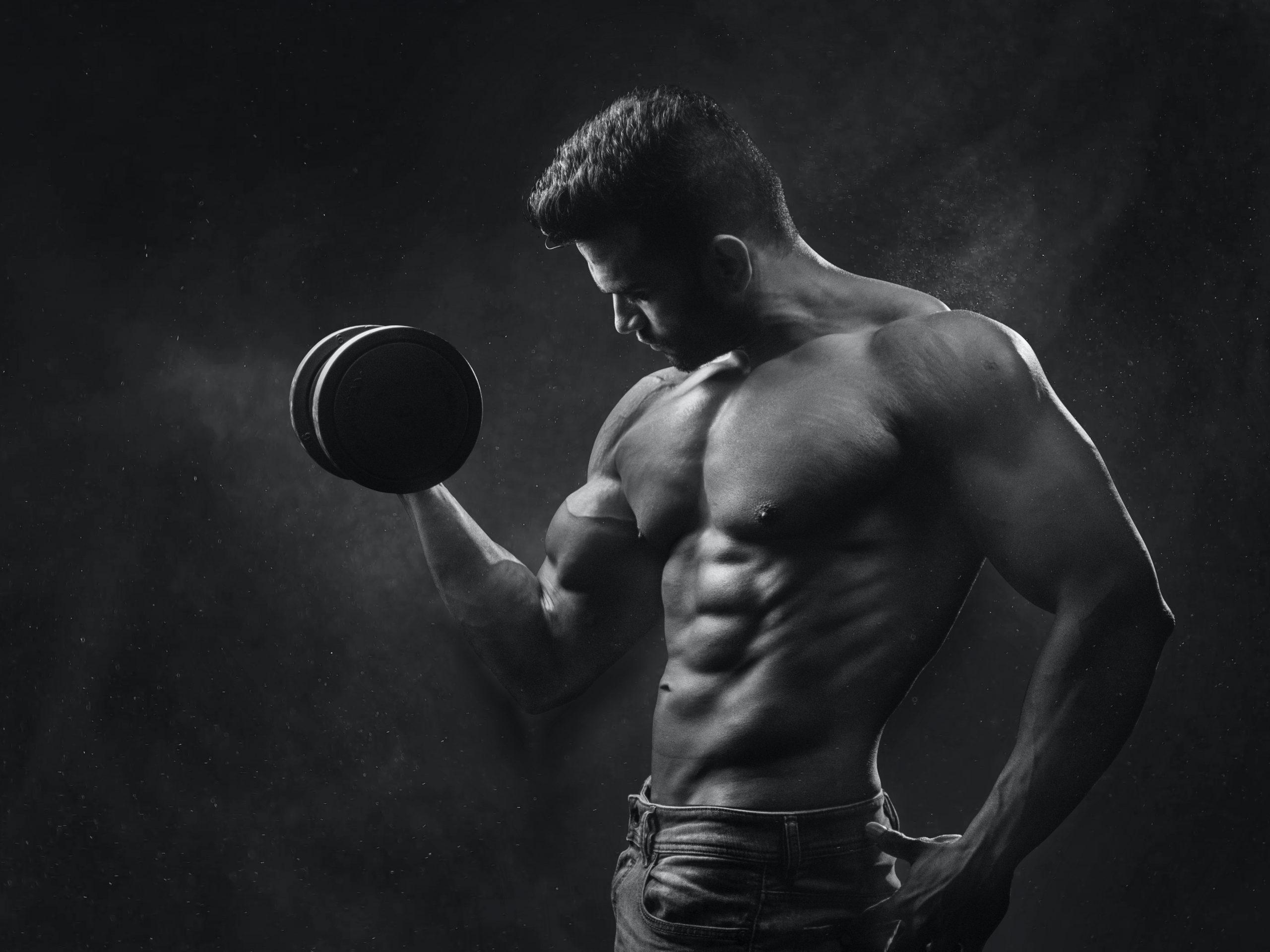 La proteína y el desarrollo muscular: funcionamiento.